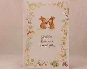 NEW! Religious Happy Birthday from Everyone by DaySpring . 1 Single Card with Envelope.