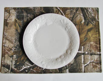 Tree Camo Placemats