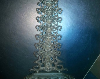 Cast iron letter stand mail stand E.G. Zimmermann