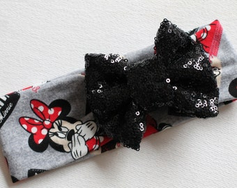 Minnie Mouse Sparkle Bowband, headband