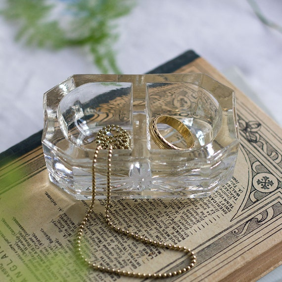 RESERVED for BRENDA - Petit French Glass Dish
