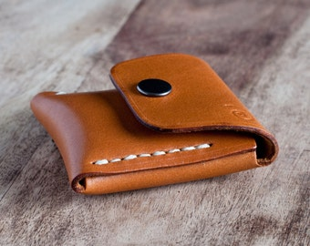 leather coin purse, leather coin pouch, small leather pouch, mens coin purse, leather coin wallet, coin purse men, personalized gift for him