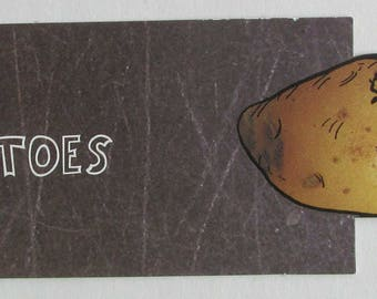 Potato  bookmark !