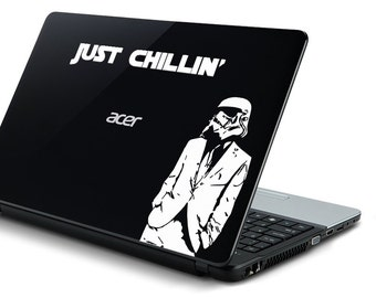 laptop computer decal Star Wars stormtrooper ipad cover decal macbook cover decal may apple be with you 11 12 13 15 17 inch darth vader