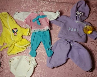 Assorted baby doll clothing