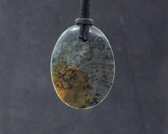 Morrisonite Porcelain Jasper Pendant