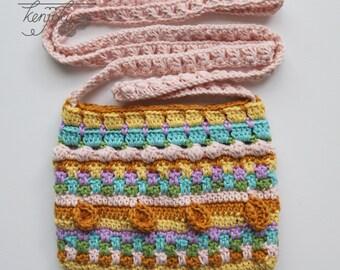 Merry Crochet Sling Bag,Sling Bag Crochet Pattern, DIY, Mini Sling Bag Pattern, Sling Bag Crochet Pattern, Cross Body Crochet Pattern