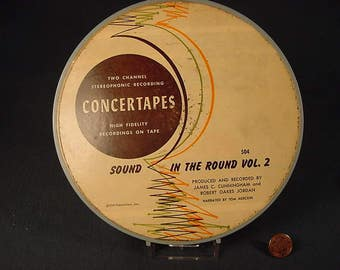 Free Shipping * Vintage Old Collectible * Reel to Reel Tape Music * In The Round Vol. 2 * 1956