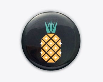 Disco Pineapple Pocket Mirror
