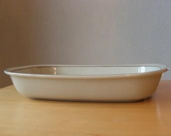 Arabia Finland vintage Fennica casserole, serving dish, baking dish, rectangular