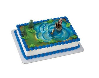 Fisherman Cake Decorating Kit