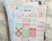 Wherever You Are Kit! 3 Page Punched Kit, for your Erin Condren Life Planner, Plum Planner,  Filoflax, calendar