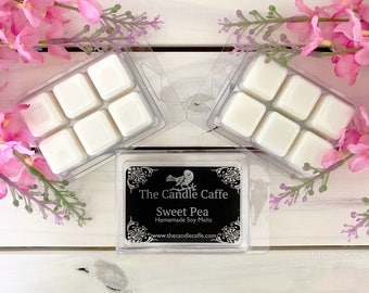 Sweet Pea Scented Soy Melts