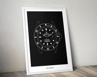 Rolex Submariner Print