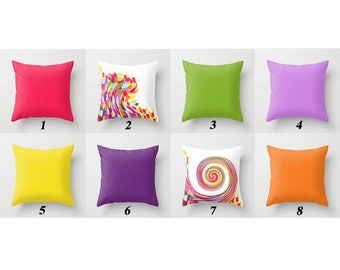 bright outdoor pillow cover porch pillows patio cushion covers colorful pillows outdoor