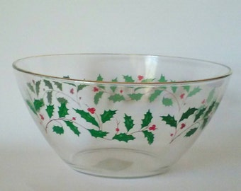 Christmas bowl   Etsy