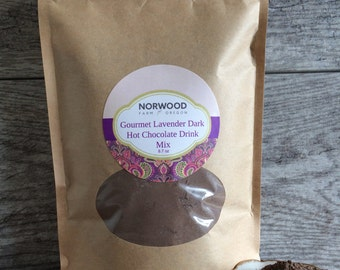 Lavender Hot Chocolate Mix, Gourmet Hot Chocolate, Hot Cocoa, Hot Chocolate