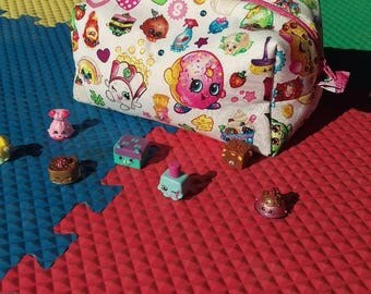 Shopkins toy bag, collectibles toy bag