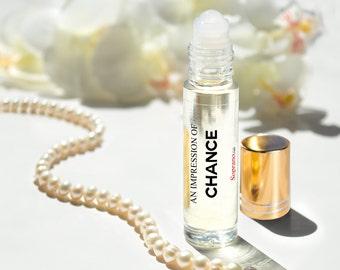 CHANCE Type/ Chance Eau Tendre Type/ Chance Eau Fraiche Type/ Chance Eau Vive Type Luxury Vegan Pure Roll-on Perfume Oil. 10 ml