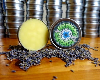 Natural Shea Balm - 'Hypnos Soother' Spearmint and Lavender Moisturizer - Teen Made in Chicago