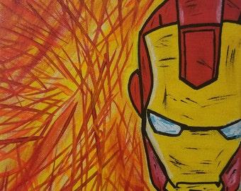 Iron Man Abstract