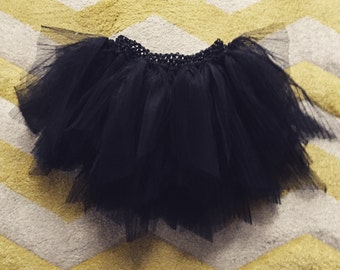 Princess in black tulle Tutu skirt