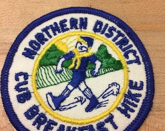 3 scout vintage badges