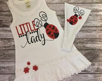 Infant Sundress,Girls Sundress,Little Lady Bug Dress,Girls Dresses,Girls Lady Bug Dress,Infant Lady Bug Dress,Baby Girl Dress,Infant Dress