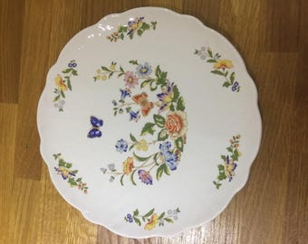 Aynsley cottage  garden plate, serving plate , ref 10