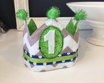 Handmade Adjustable Reversible Birthday Crown
