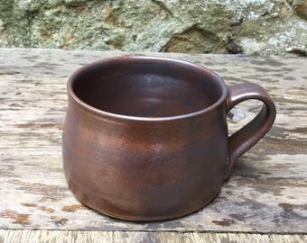 Hand thrown Stoneware coffee mug #8