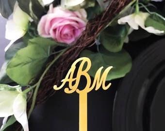 Monogram Swizzle Sticks,Drink Stirrer,Perfect Weddings,Bridal Shower,Engagement Party, Stir Sticks, Bachelorette,Laser Cut,Custom 6 Pack