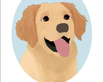 Dog Portrait Series | Golden Retriever