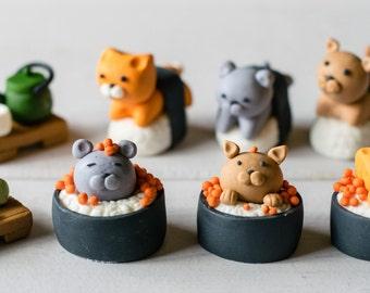 Sushi Animal Fondant
