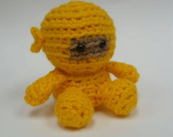 Ninja Crochet Doll Mini Amigurumi Stuffed Toy