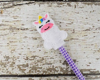 Unicorn Pencil Toppers - Party Favor - Easter - Small Gift - Back to School