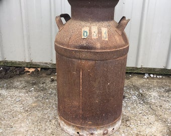 Milk cans!!! Rustic, vintage milk can, antique milk can, old milk can, home decor, farm house