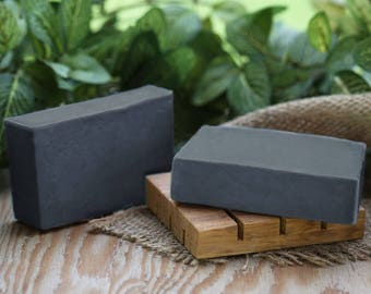 Charcoal Soap, soap for Oily skin, soap for acne, vegan soap