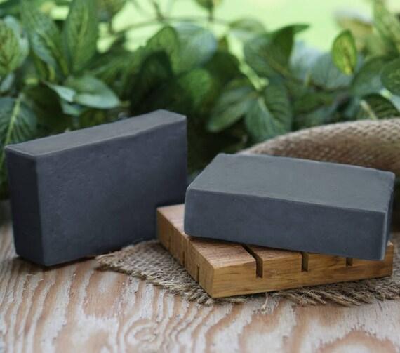 Charcoal Soap, handmade soap, vegan soap