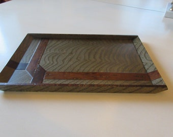 HAND CRAFTED WOOD Tray