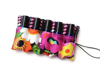 Essential Oil Case~Doterra~Young Living~Essential Oil Holder~Essential Oil Bag~Essential Oil Insert~Rollerball~
