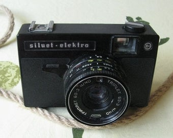 Siluet Electro, Vintage Camera, Antique Photographer, Analog Camera