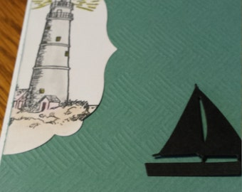 Lighthouse Friendship Card