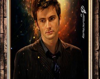 10th Doctor digital portrait