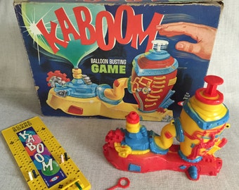 Vintage Kaboom Balloon Busting Game, 1966