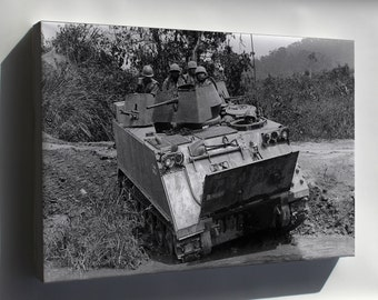 Canvas 24x36; M113 Armored Personnel Carrier Vietnam 1966