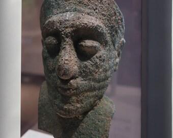 Canvas 16x24; Head Of A Dignitary, Iran, About 2000 Bc, Arsenical Copper Cincinnati Art Museum Dsc04606