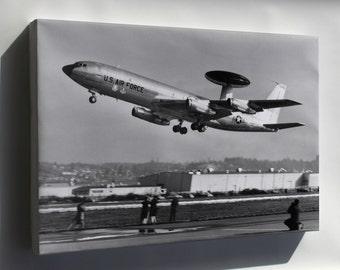 Canvas 16x24; Boeing E-3 Sentry 1972