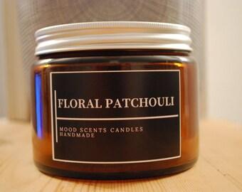 Floral Patchouli Candle