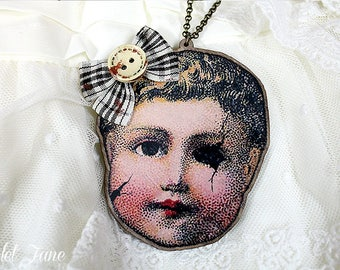"""Necklace Collection ~ """"La Poupée Oubliée"""""""